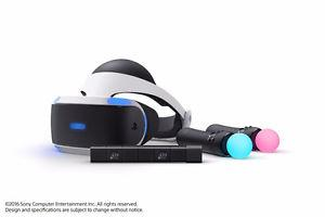 Ps Vr bundle - used 6 times, with box