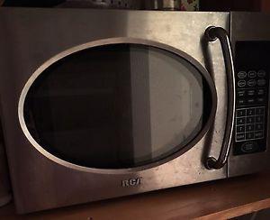 Stainless steel microwave