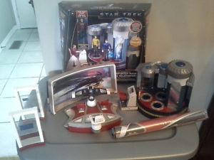 Star Trek playsets and figures