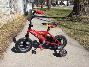 "Super Cute 10"" Lightning McQueen Bike for sale"