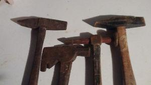 Vintage 4 old hammers $25 each or 4 for $75