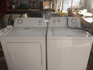 Washer and dryer one year old