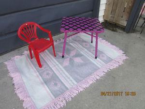 pink grey washable rug