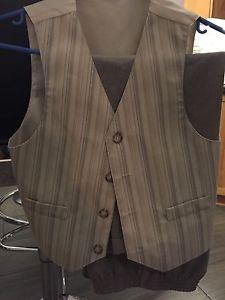 suit pants and vest only sz 7