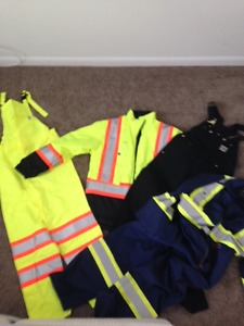 working high vis clothing