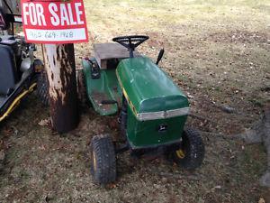 111 John Deere lawn tractor Near Springhill