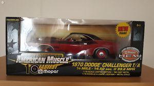 1/18 ertl  dodge challenger t/a diecast car