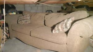 2 couches for free! regular and love seat