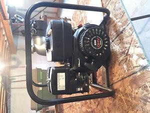 3 inch gasoline self priming water pump.