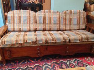4 pc. Sofa Set - sofa, 2 chairs, ottoman table