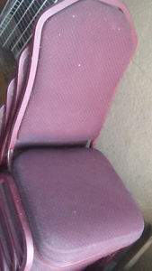 6 Hotel Banquet Style Chairs  OBO
