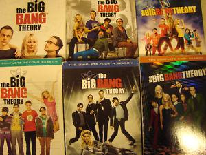 6 Seasons of the big bang theory