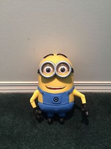 8 in talking minion battery operated $6 kids toys