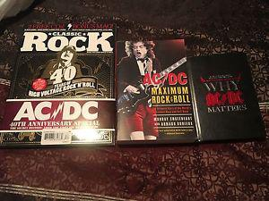 AC/DC books and puzzle