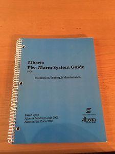 Alberta fire alarm system guide