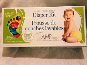 Amp One Size Diaper Kit