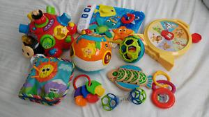 Baby and Toddler Toy Lot