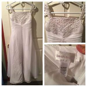 Beautiful junior bridesmaid dress, size 14, amazing