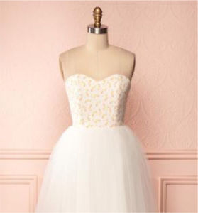 Brand New Floral/Tulle Dress - Size Small