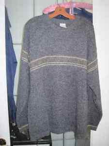 Brand New Men's Columbia Wool Blend Winter Sweater