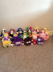 Club penguins stuffed animals
