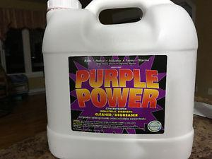 Concentrated power cleaner