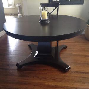Custom built table and chairs