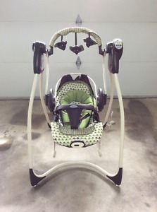 Electric Baby Swing by Graco