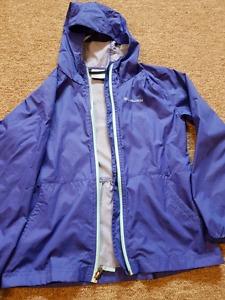 Girls Columbia soft shell jacket size