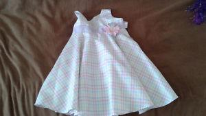 Girls dress size 3-4T -cute easter dress