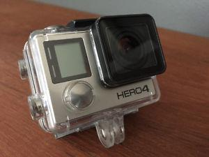 GoPro Hero4 Silver with Accessories