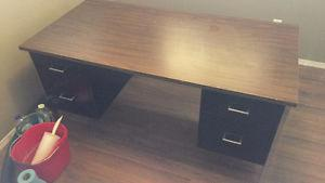 Great, Large Steel Desk! Perfect for Home Office!!