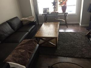 Handcrafted Farmhouse style coffee table!