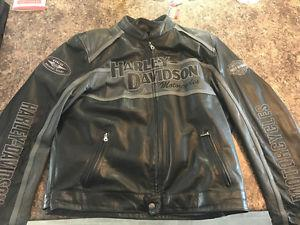 Harley Davidson Leather Jacket with Removable liner and