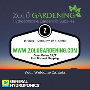 Hydroponic Equipment Supplier - Discreet and Direct to you!