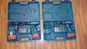 "I have (2) Makita 1/2"" cordless drills for sale"