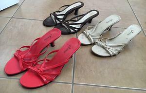 Kitten Heel Sandals Sz 7