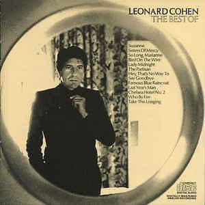 LEONARD COHEN - THE BEST OF - CD