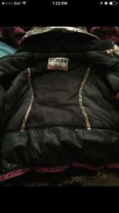 Ladies camo fxr coat for sale!!!! Like new!!!