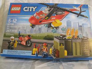 Lego City Fire Response Unit #  Sealed Unopened