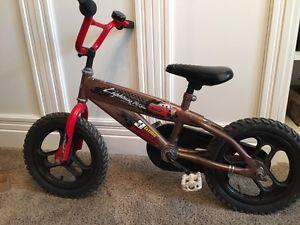 Lightning McQueen BMX bike