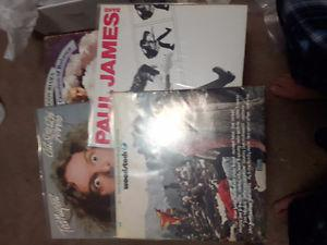 Lot of 10 LPS records see pics for lps