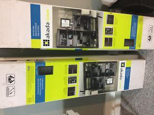 New bookcases still in box
