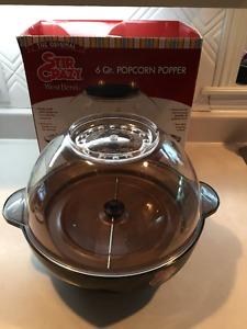 Pop Crazy 6 Qt.Popcorn maker
