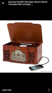 Record player with CD and Radio with such inout