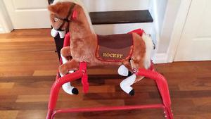 Rocket the Riding Horse