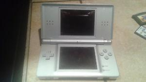 Silver DS Lite with 16 games