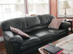 Sofa, recliner and ottoman