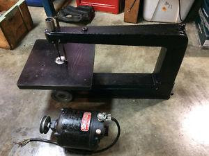 Vintage Craftsman cast iron scroll saw