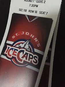 Wanted: Ice Caps Tickets for Tonight!!